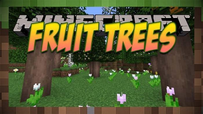 Мод Fruit Trees Фруктовые Деревья