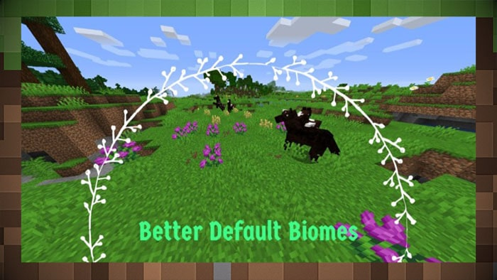 Мод Better Default Biomes