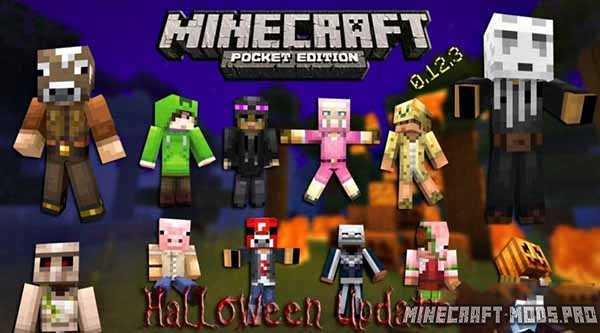 Minecraft PE 0.12.3 Halloween