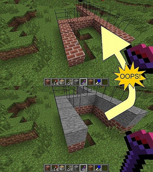 скриншот фото Мод Build Faster