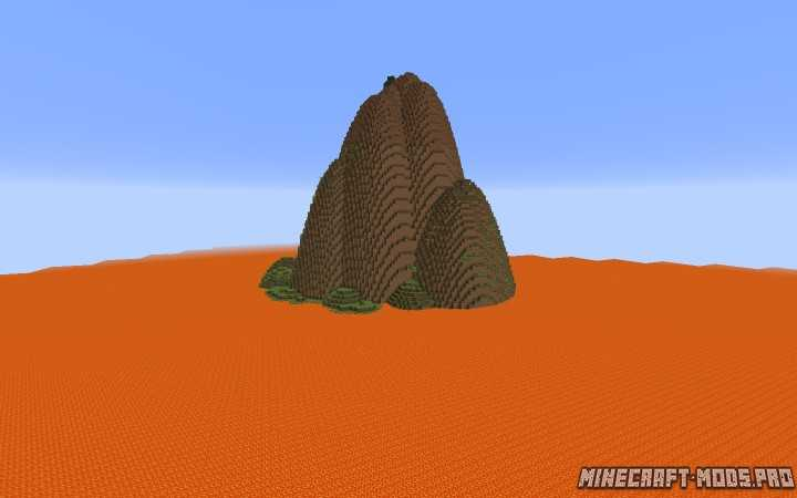 Карта Остров лавы