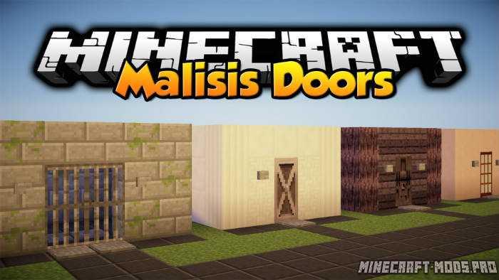 Мод новые Двери