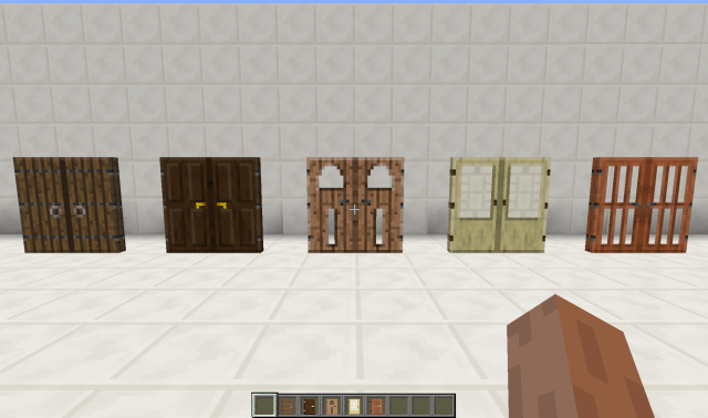 фото Мод новые Двери