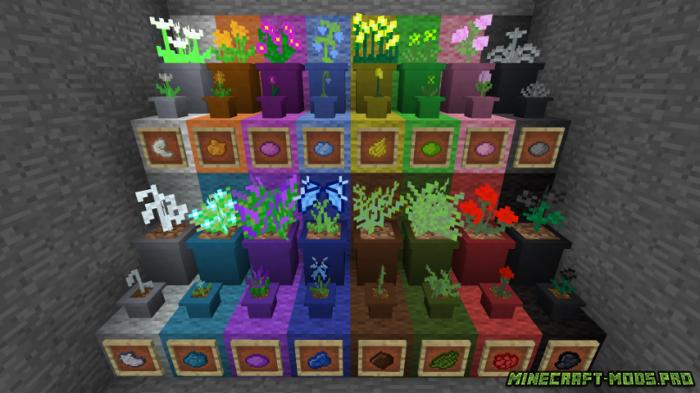 скриншот фото Мод на Сад и Растения