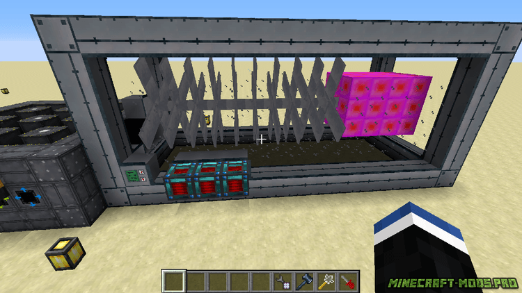 скрин Мод Реакторы и Электричество для Машин