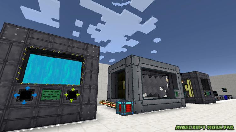 фото Мод Реакторы и Электричество для Машин