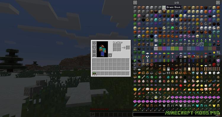 Мод Just Enough Resource скриншот