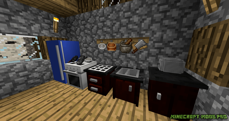 фото Мод техника для кухни (холодильник, плита)