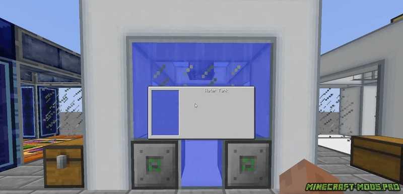 скриншот фото Мод Жидкости