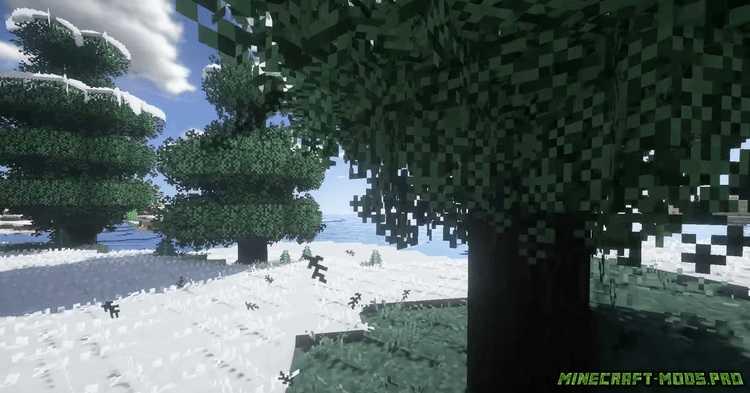 скрин Мод Улучшенные Листья