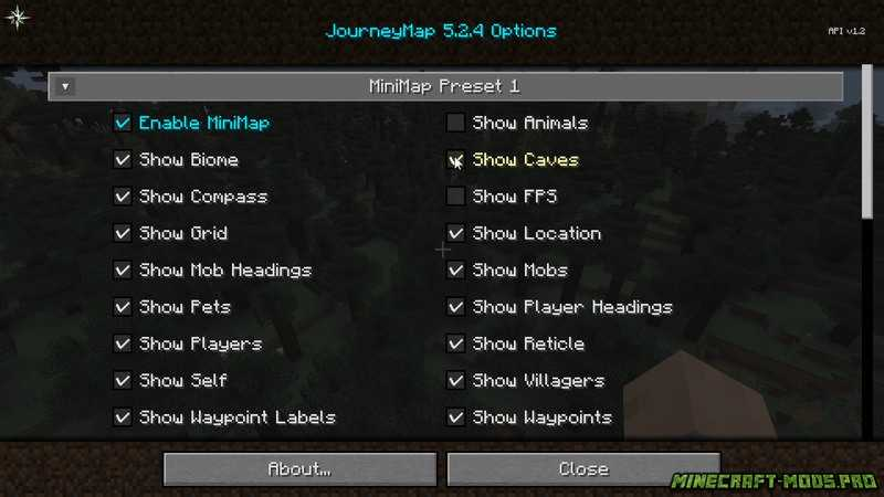 скрин Карта Journey