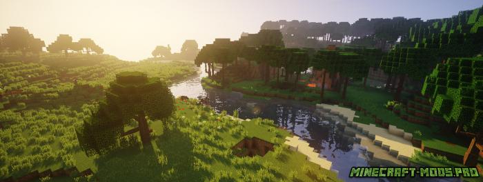 Мод Новые Виды Деревьев скриншот