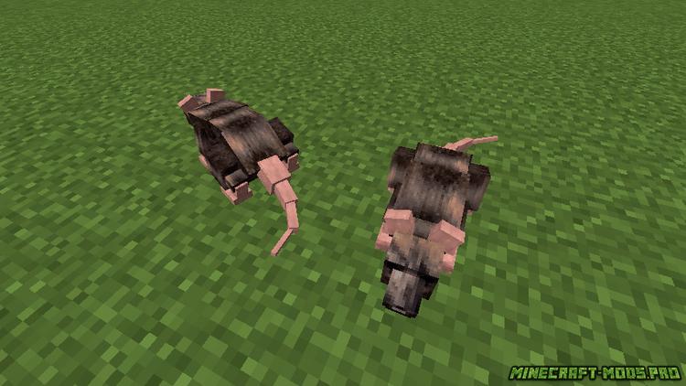скриншот фото Мод Лесные Животные