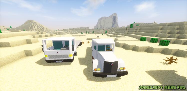 скриншот фото Мод Грузовые и Служебные машины