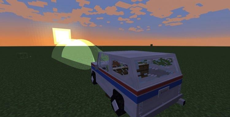 Мод Транспортный симулятор скриншот