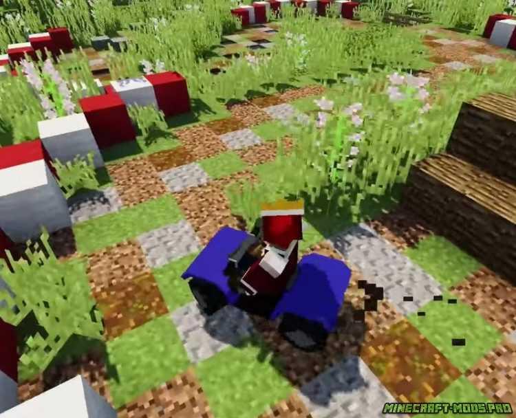 Скачать мод на Квадроциклы для Minecraft PE 1.1.0