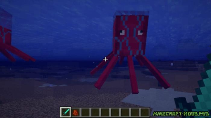 фото Мод Rocket Squids (Кальмар)