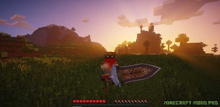 скриншот фото Мод Оружие с Аниме