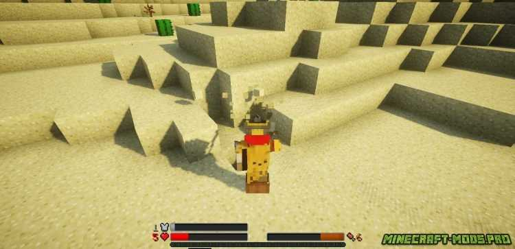 скриншот фото Мод Новое отображение HP