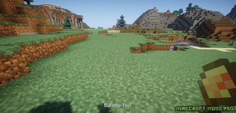 скриншот фото Мод Инструменты для Стройки