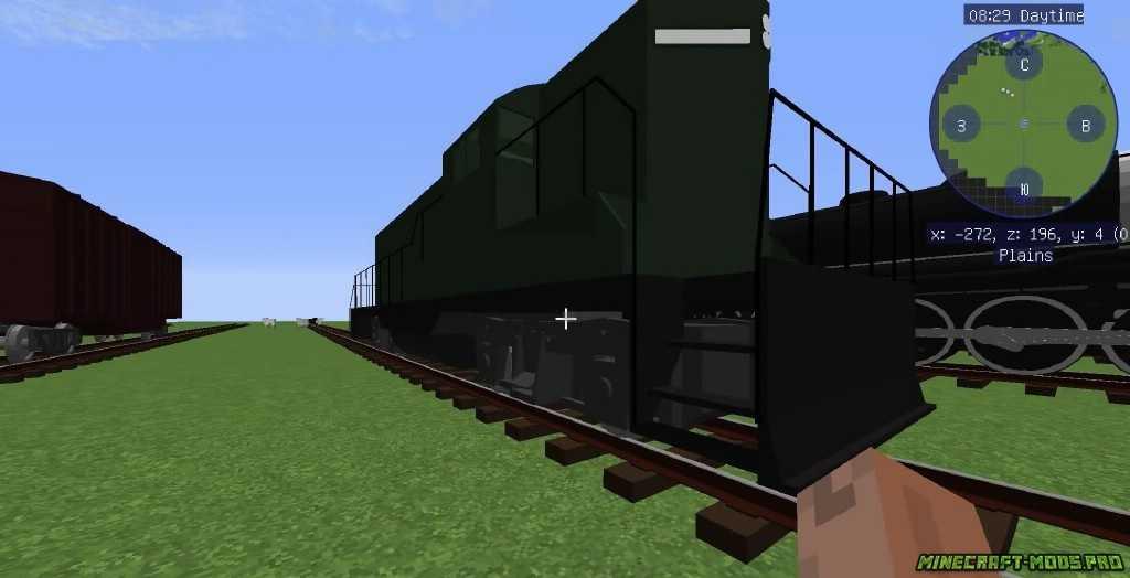 Мод Поезда и ЖД скриншот