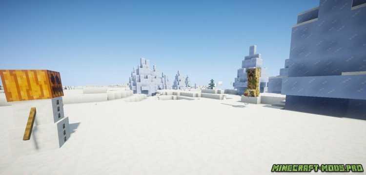 Мод Новый Боевой Снеговик скриншот