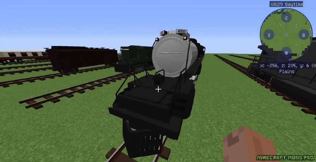 скриншот фото Мод Поезда и ЖД