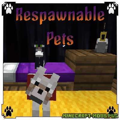 скрин Мод Respawnable Pets