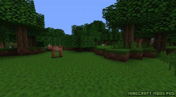 Текстуры NuggetCraft Toon скриншот