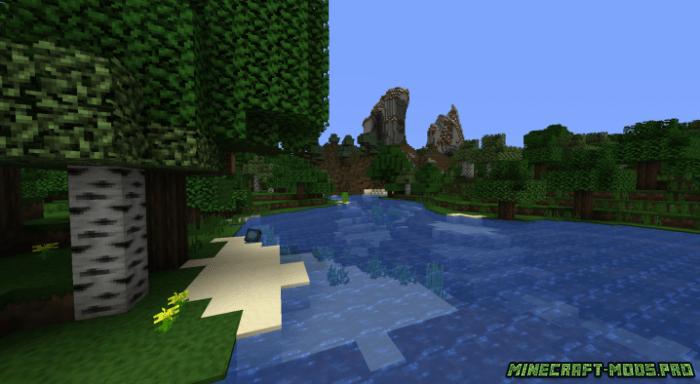скриншот фото Текстуры NuggetCraft Toon