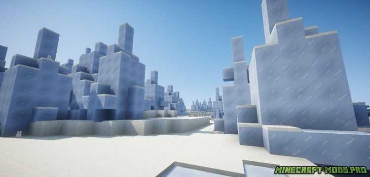 скрин Мод Новый Боевой Снеговик