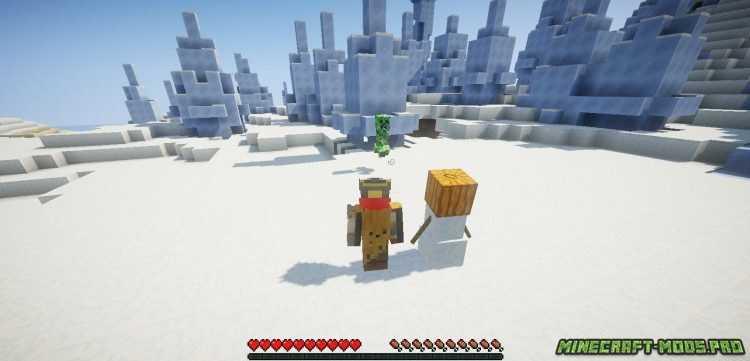 фотка Мод Новый Боевой Снеговик