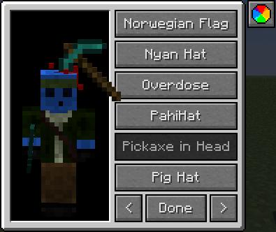 картинка Мод Различные шапки