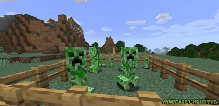 скрин Мод Creeper Spores
