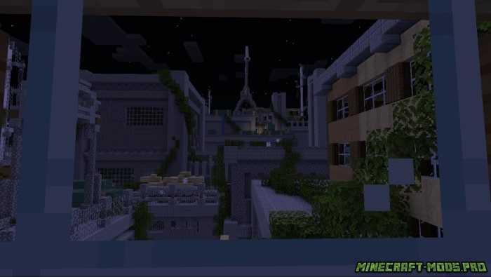 Карта Ужасов Заброшенный город