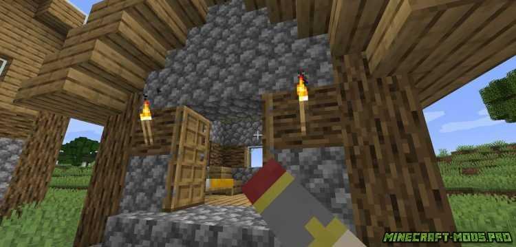 картинка Мод Одновременное открытие Дверей, люков