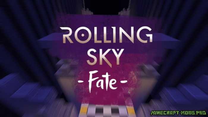 Карта Мини-Игры Rolling Sky - Fate