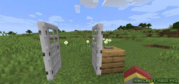Мод Одновременное открытие Дверей, люков скриншот