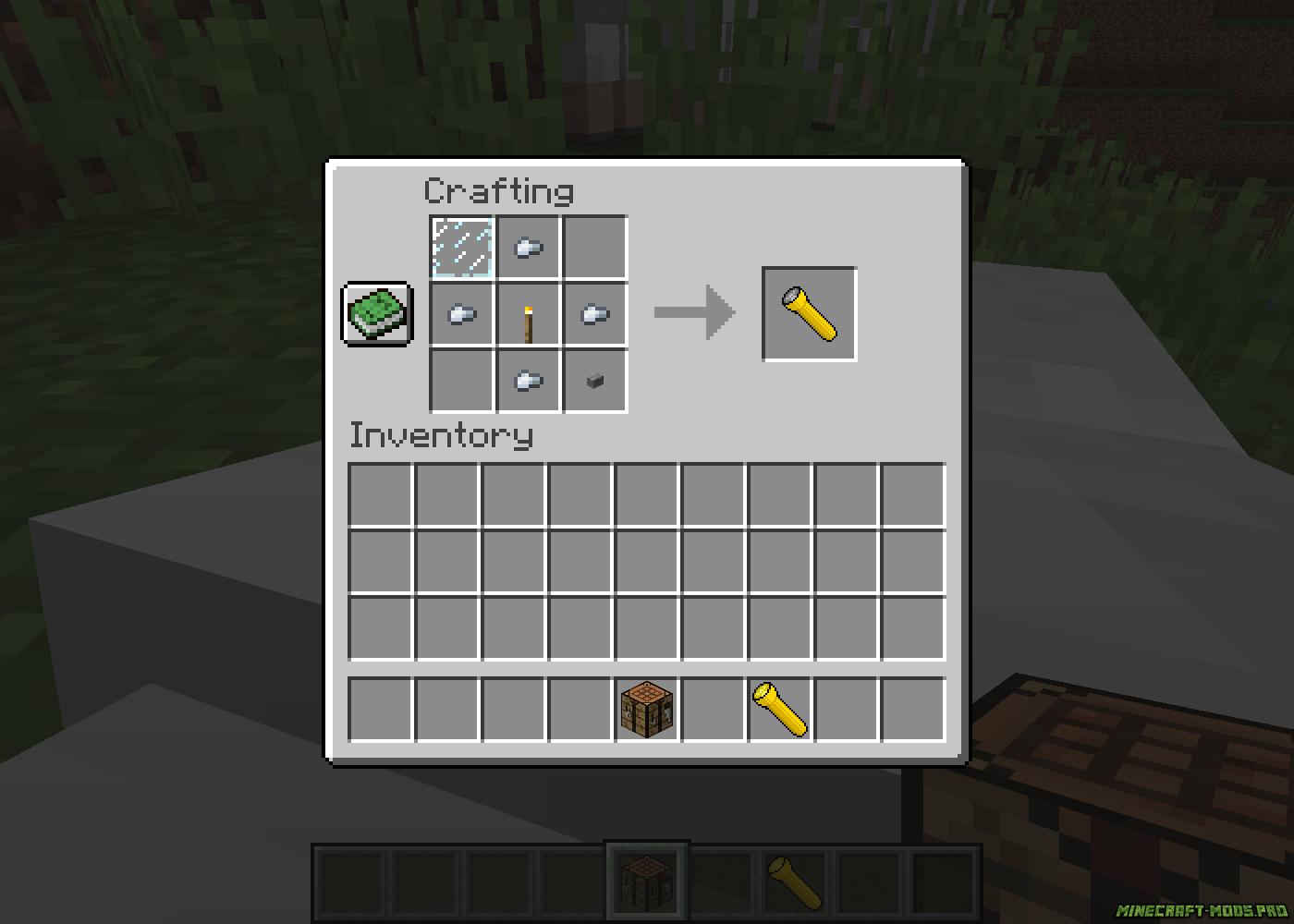 Мод Снаряжение для Приключений скриншот