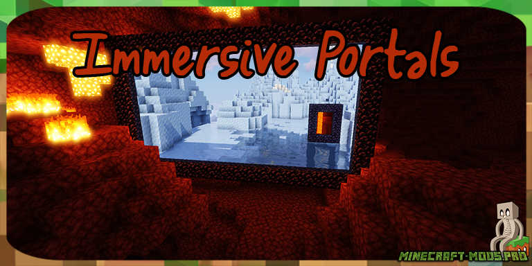 Мод Immersive Portals Порталы