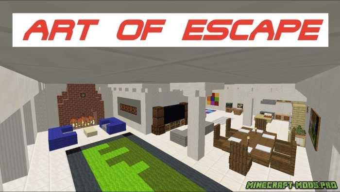 Карта Головоломка Art of Escape