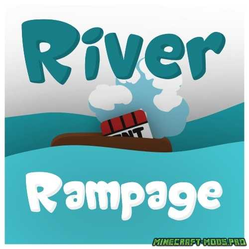 Карта мини-игра  River Rampage
