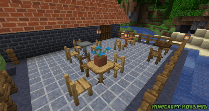 скриншот фото Мод Декор и Мебель - EmbellishCraft