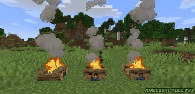 Мод Цветной Дым Colorful Campfire Smoke картинки