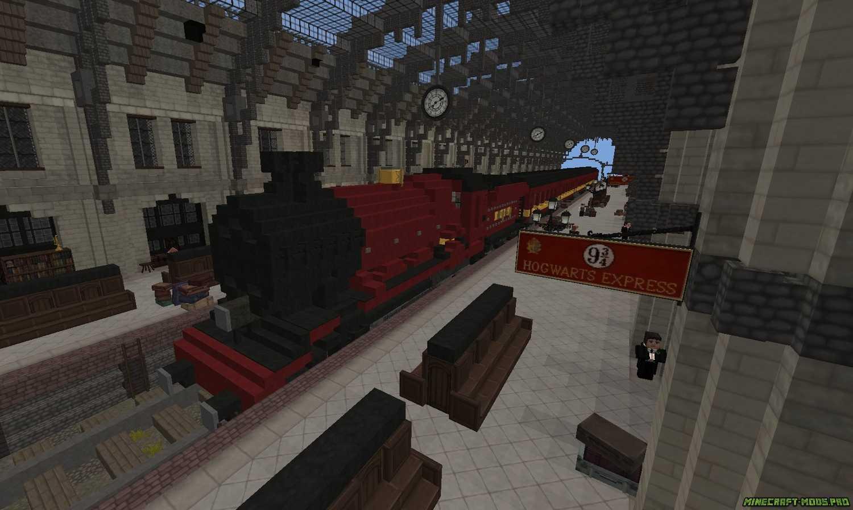 скриншот фото Карта Мир Гарри Поттера