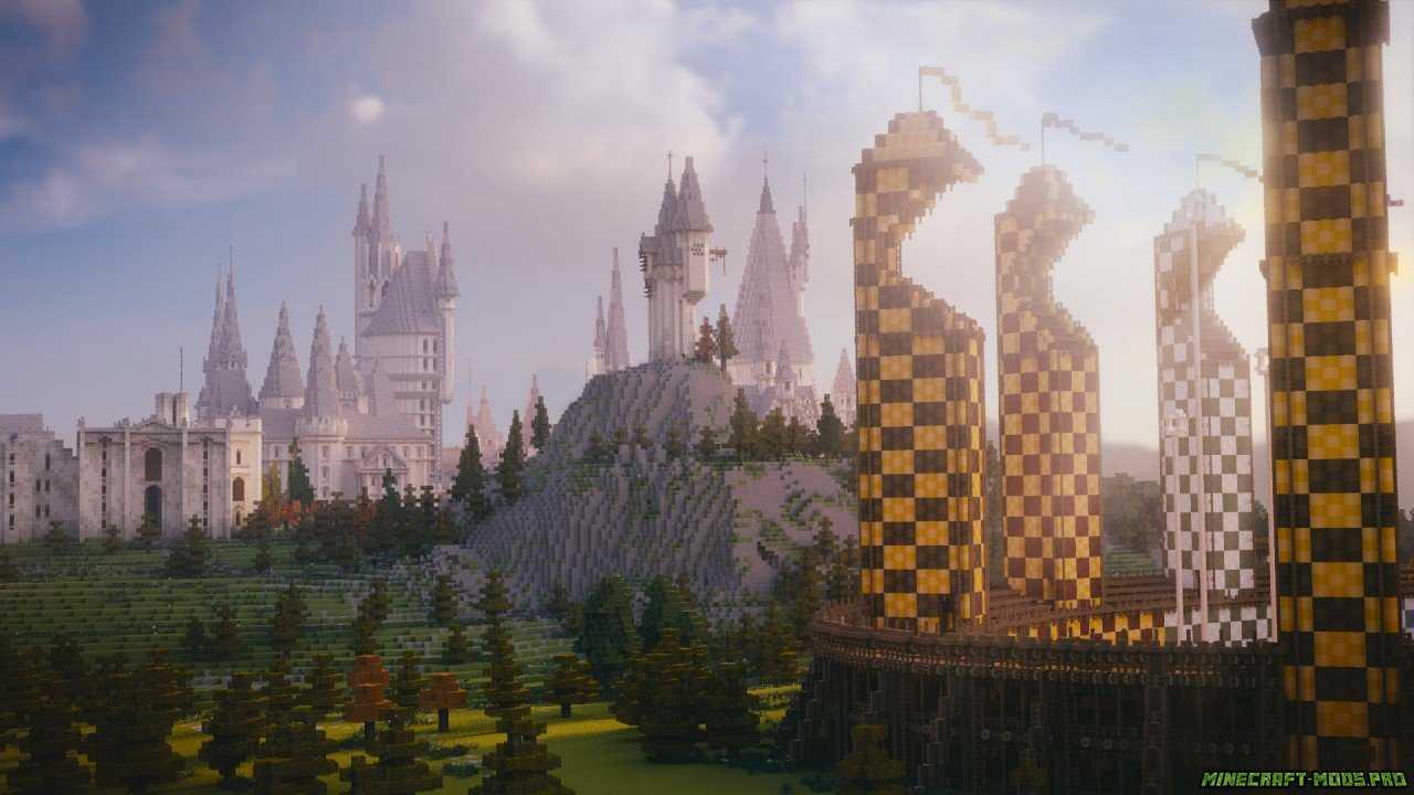 скрин Карта Мир Гарри Поттера
