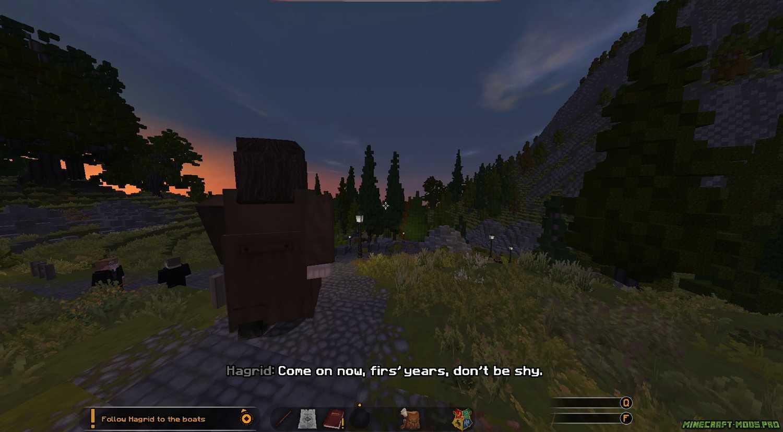 Карта Мир Гарри Поттера скриншот