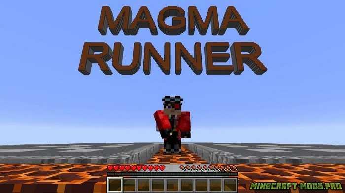 Карта Игра Гонка Magma Runner 2