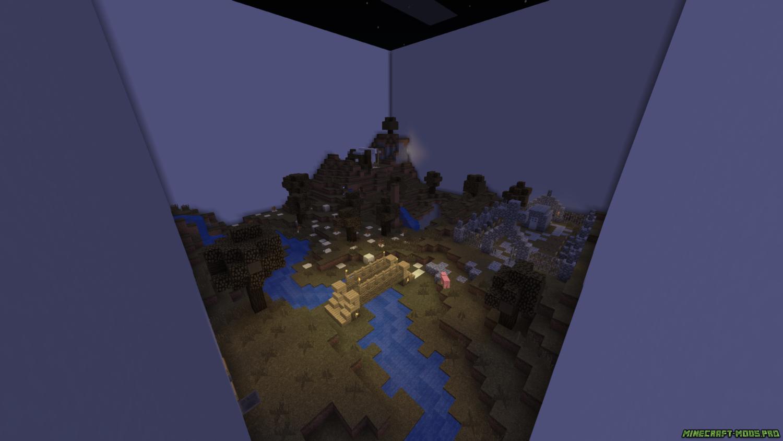 картинка Карта Тантум для Майнкрафт