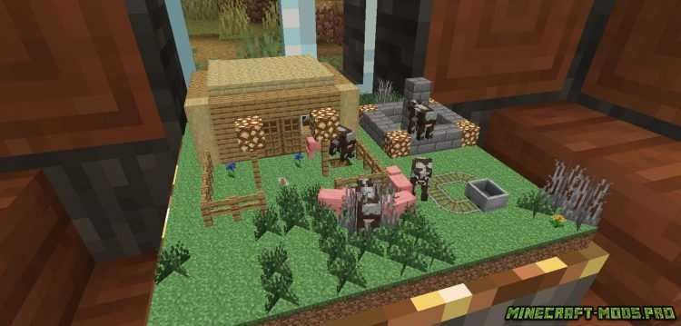 скриншот фото Мод Глобус в Котором можно жить